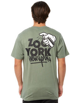 ARMY MENS CLOTHING ZOO YORK TEES - ZY-MTA8126ARMY
