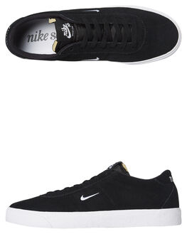 BLACK WHITE MENS FOOTWEAR NIKE SKATE SHOES - AQ7941-001