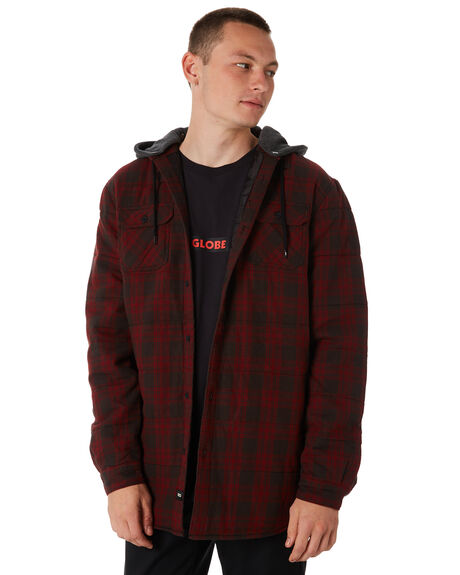 OX BLOOD MENS CLOTHING GLOBE SHIRTS - GB01734008OXB