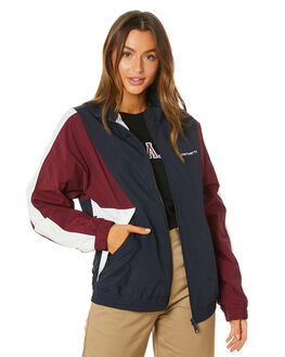 DARY NAVY MERLOT WOMENS CLOTHING CARHARTT JACKETS - I0259919203
