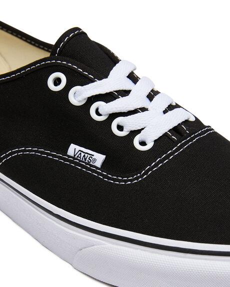 BLACK MENS FOOTWEAR VANS SKATE SHOES - SSVN-0EE3BLKM