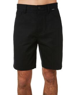 BLACK MENS CLOTHING HURLEY SHORTS - BV1549010