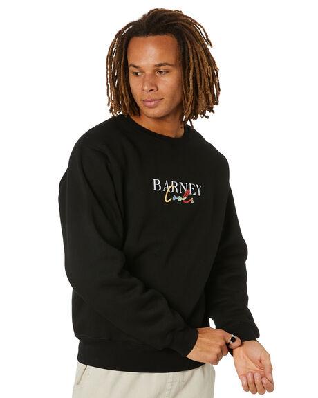 BLACK MENS CLOTHING BARNEY COOLS HOODIES + SWEATS - 400-0521BLK
