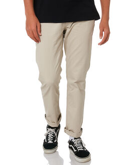 LIGHT KHAKI MENS CLOTHING VOLCOM PANTS - A1111703LKH