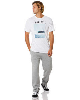 DARK GREY HEATHER MENS CLOTHING HURLEY PANTS - CN7820063