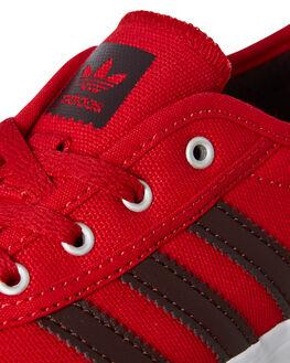 SCARLET RED KIDS BOYS ADIDAS SNEAKERS - B27801SCAR