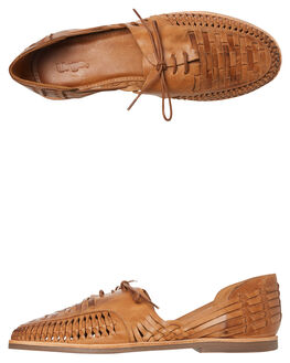 TAN MENS FOOTWEAR URGE FASHION SHOES - URG17045TAN