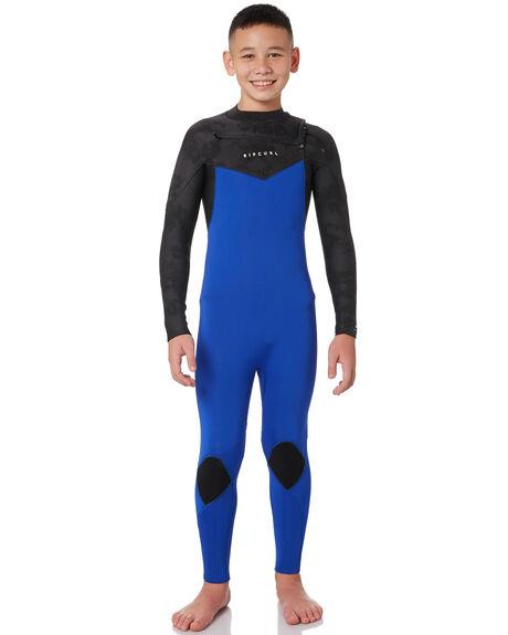 BLACK BLUE BOARDSPORTS SURF RIP CURL BOYS - WSM9LB0107