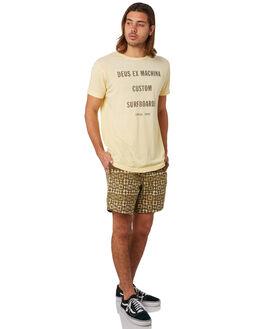 GOLDEN HAZE MENS CLOTHING DEUS EX MACHINA TEES - DMS81661AGLDHZ