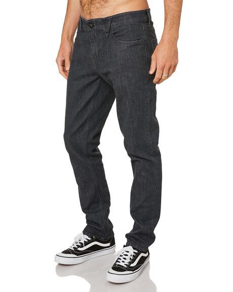 DARK GREY MENS CLOTHING VOLCOM JEANS - A1931501DGR