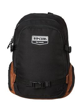 BLACK MENS ACCESSORIES RIP CURL BAGS + BACKPACKS - BBPYN10090