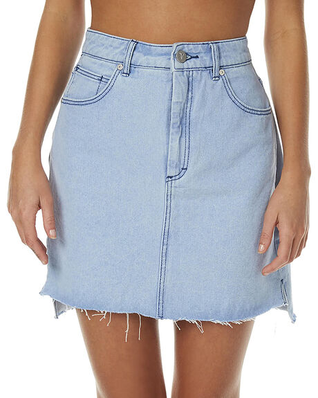 BLEACH BLUE WOMENS CLOTHING A.BRAND SKIRTS - 70692765