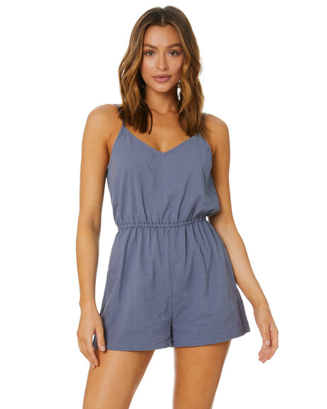 OMBRE BLUE OUTLET WOMENS RUSTY PLAYSUITS + OVERALLS - MCL0354OMBU