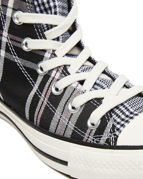 BLACK WOMENS FOOTWEAR CONVERSE SNEAKERS - 568896CBLK