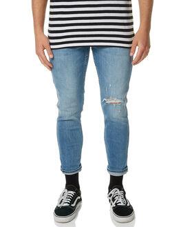SLACKER WORN MENS CLOTHING WRANGLER JEANS - W-901071-CX3SLACK