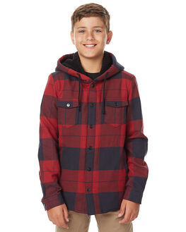 BLOOD KIDS BOYS SWELL SHIRTS - S3172166BLD