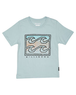 DUSTY BLUE KIDS TODDLER BOYS BILLABONG TOPS - 7595001DBLU