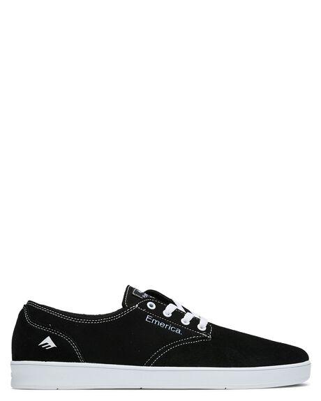 BLACK WHITE BLACK MENS FOOTWEAR EMERICA SNEAKERS - 6102000089992