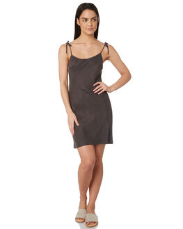 CHARCOAL WOMENS CLOTHING TIGERLILY DRESSES - T395408CHA