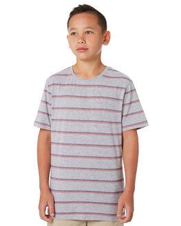 GREY MARLE KIDS BOYS MOSSIMO TOPS - 3M81BLGRYM