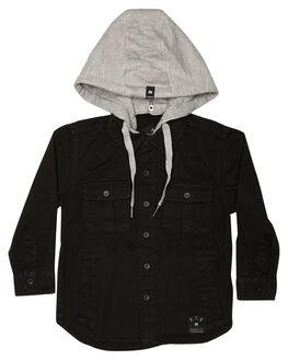 BLACK KIDS BOYS ST GOLIATH TOPS - 2813022BLK