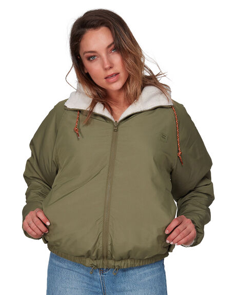 ARMY WOMENS CLOTHING BILLABONG JACKETS - BB-6508890-ARM