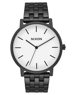 MATTE BLACK  WHITE MENS ACCESSORIES NIXON WATCHES - A10572493