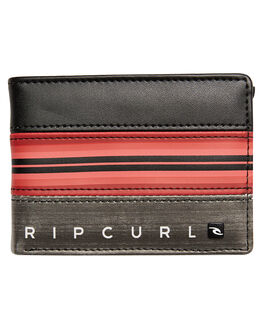 RED MENS ACCESSORIES RIP CURL WALLETS - BWUIO10040