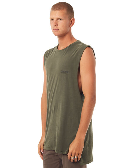 PEAT MENS CLOTHING ZANEROBE SINGLETS - 105-TDKIPEAT