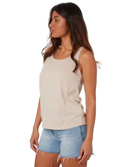 SAND WOMENS CLOTHING SWELL SINGLETS - S8211006SAND