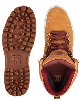 WHEAT MENS FOOTWEAR DC SHOES BOOTS - ADYB700022-WE9
