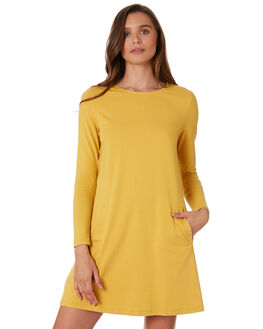 MUSTARD WOMENS CLOTHING BETTY BASICS DRESSES - BB257H19MUST