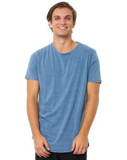 LIGHT BLUE MENS CLOTHING SILENT THEORY TEES - 40X0018LBU