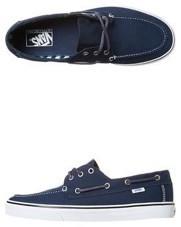 DRESS BLUES STRIPES MENS FOOTWEAR VANS SNEAKERS - VN-A32SCN3LDBLU