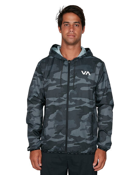 CAMO MENS CLOTHING RVCA JACKETS - RV-R305434-CMO