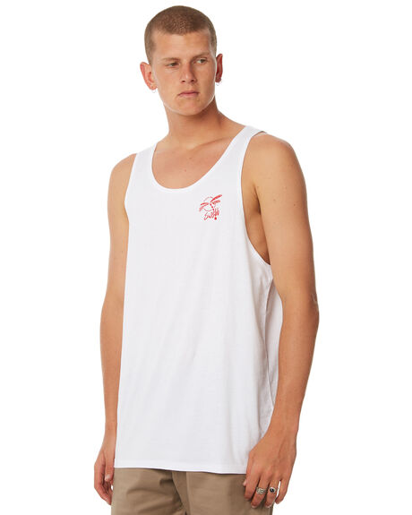 WHITE MENS CLOTHING SWELL SINGLETS - S5184273WHITE
