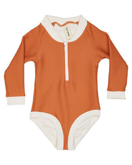 RUST KIDS TODDLER GIRLS ZULU AND ZEPHYR SWIMWEAR - ZM1641RUS