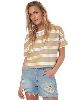 ANTIQUE GOLD WOMENS CLOTHING BILLABONG TEES - 6572138A61