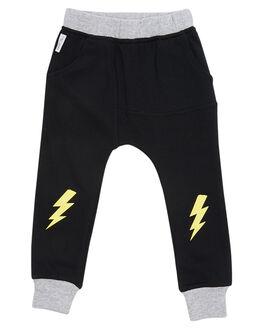 BLACK KIDS TODDLER BOYS TINY TRIBE PANTS - TTW18-3006FBLK