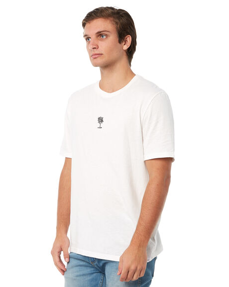 WHITE MENS CLOTHING RHYTHM TEES - JAN18M-CT08WHT