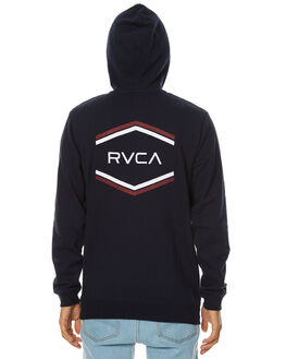 NEW NAVY MENS CLOTHING RVCA JUMPERS - R174158NNVY