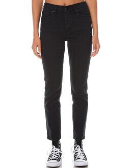 LUNAR BLACK WOMENS CLOTHING LEE JEANS - L-656123-T97LUN