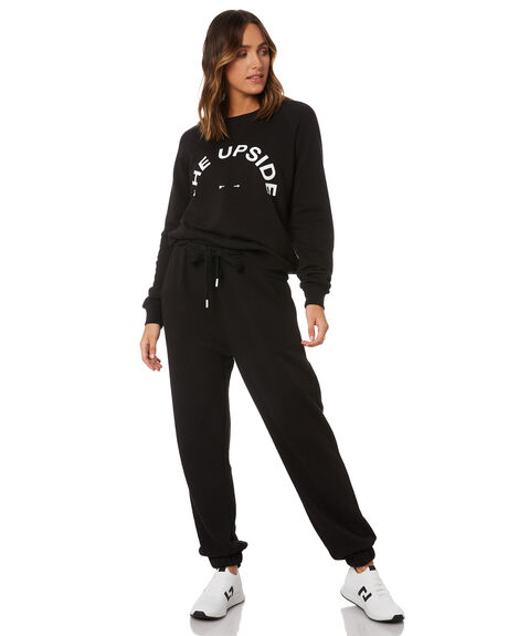 BLACK WOMENS CLOTHING THE UPSIDE ACTIVEWEAR - USW020035BLK