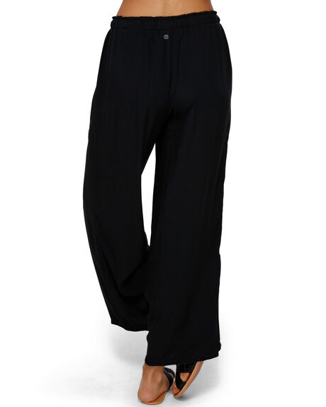 BLACK WOMENS CLOTHING BILLABONG PANTS - BB-6591406-BLK