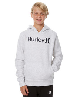BIRCH HEATHER KIDS BOYS HURLEY JUMPERS - ABFLOPH506A