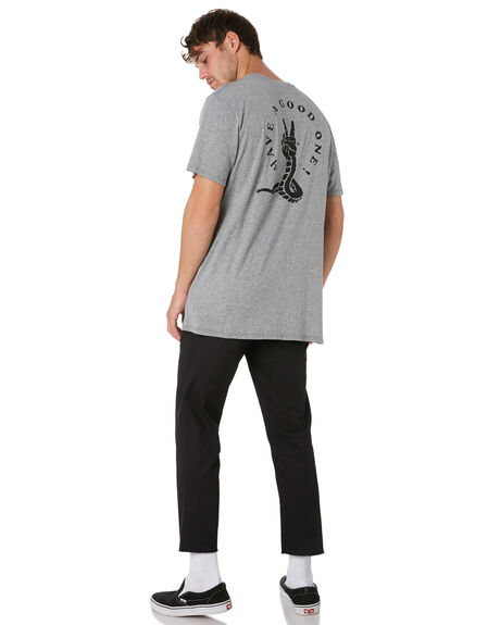 GREY MARLE OUTLET MENS SWELL TEES - S52011006GRYMA