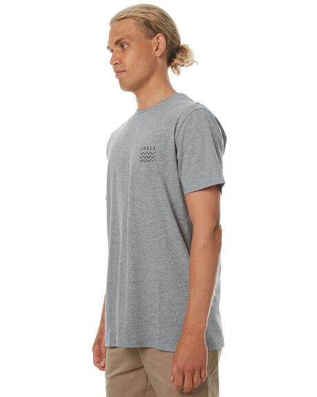 GREY MARLE MENS CLOTHING SWELL TEES - S5164013GRYM