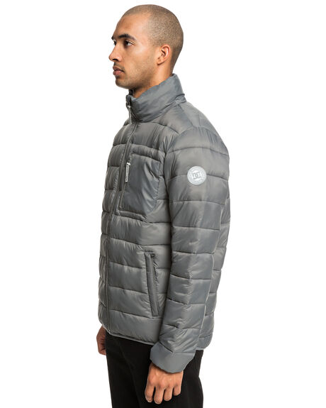 PEWTER MENS CLOTHING DC SHOES JACKETS - EDYJK03172-KPF0