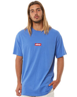 POP BLUE MENS CLOTHING STUSSY TEES - ST073015PBLU