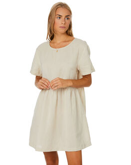 NATURAL WOMENS CLOTHING SWELL DRESSES - S8204442NATRL